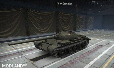 CRUSADER TO T-54-S (SD) Model-swap 3 [1.0.2.4]